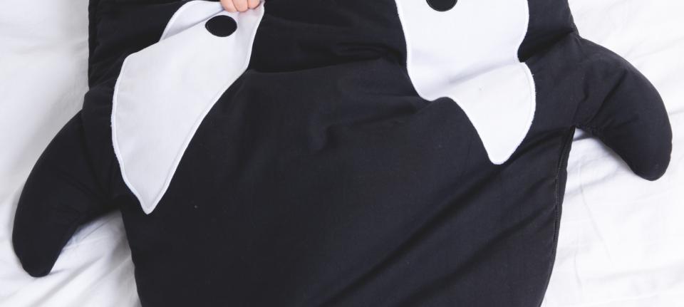 baby bites slaapzak en zak voor buggy orka black