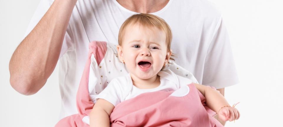BABY bites slaapzak en zak voor buggy haai pink